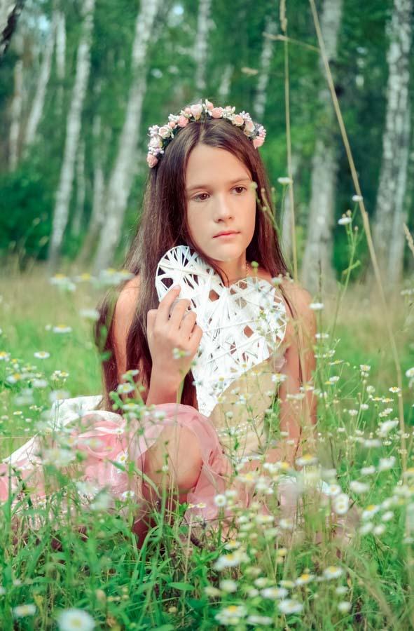 детская фотосессия на природе декорации