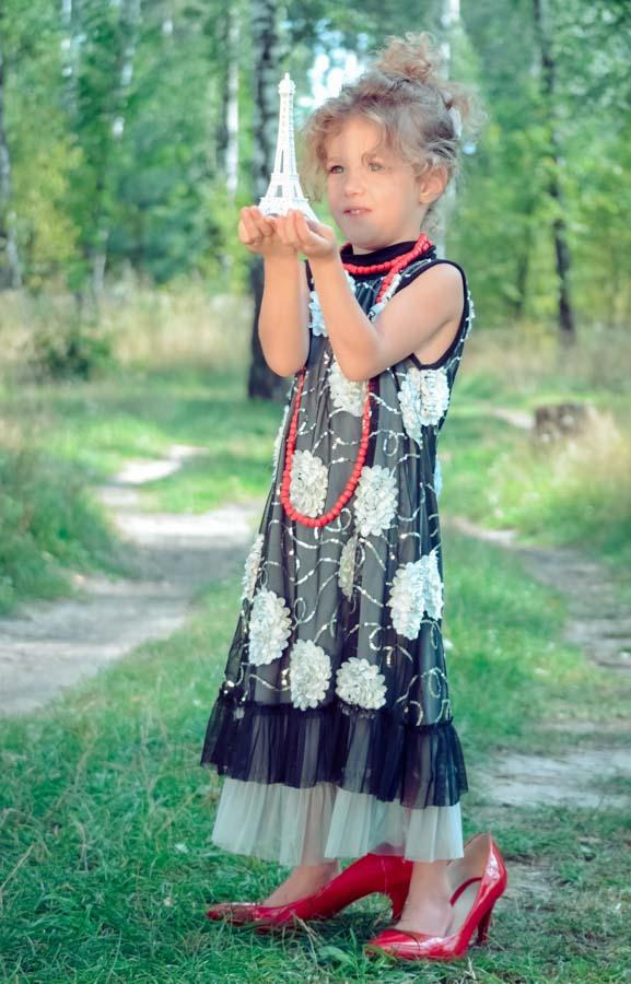 фотосессия в стиле ретро детская