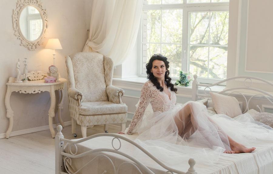 Утро невесты фотографии