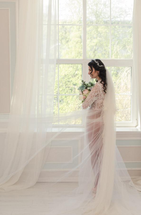 Утро невесты дома