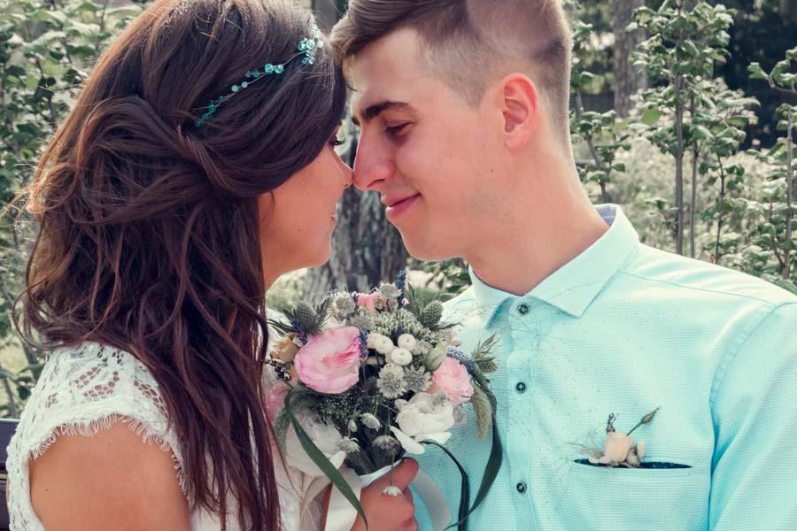 современные свадебные  фото