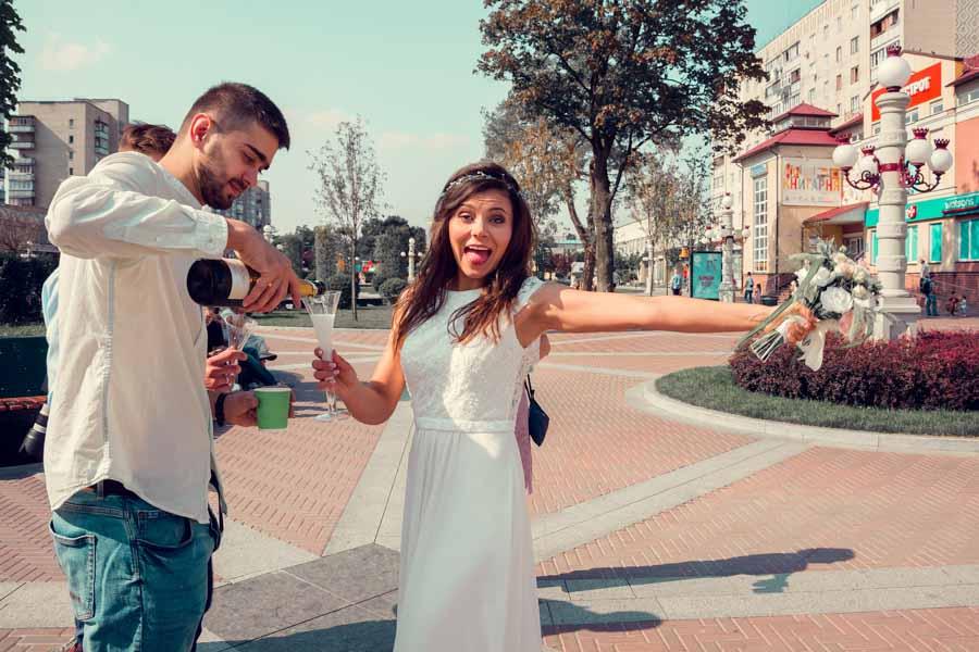 свадебные фото ирпень